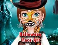 Halloween Face Art