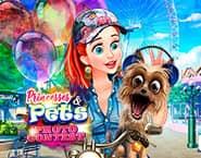 Princesses and Pets Photo Contest