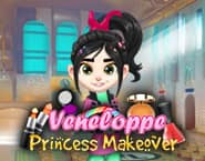 Vanellope Princess Makeover